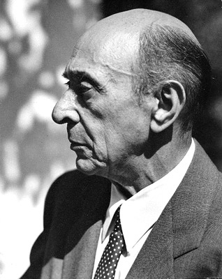 Arnold Schoenberg by Florence Homolka