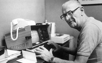 Arthur Clarke at the Kaypro