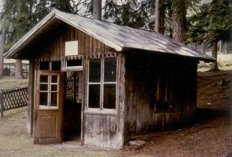 The hut in Toblach in which Gustav Mahler composed his Ninth Symphony