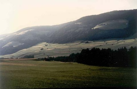What Mahler could see from his composing hut